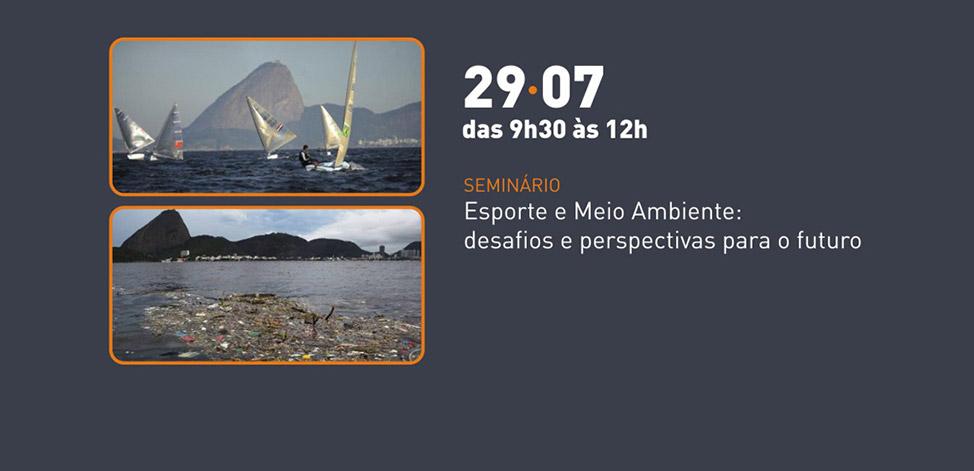Evento no Museu do Meio Ambiente do Jardim Botânico em 29 de julho vai discutir Esporte e Meio Ambiente.