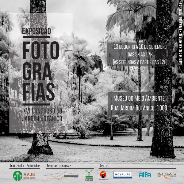Exposição - XVI Concurso fotográfico do Jardim Botânico